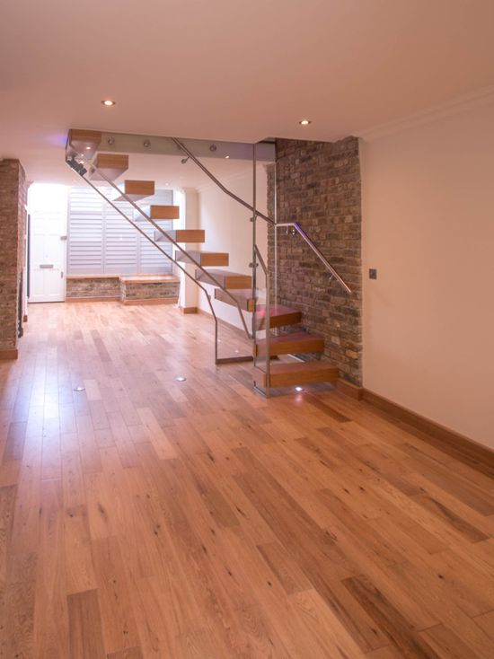 floating oak staircases